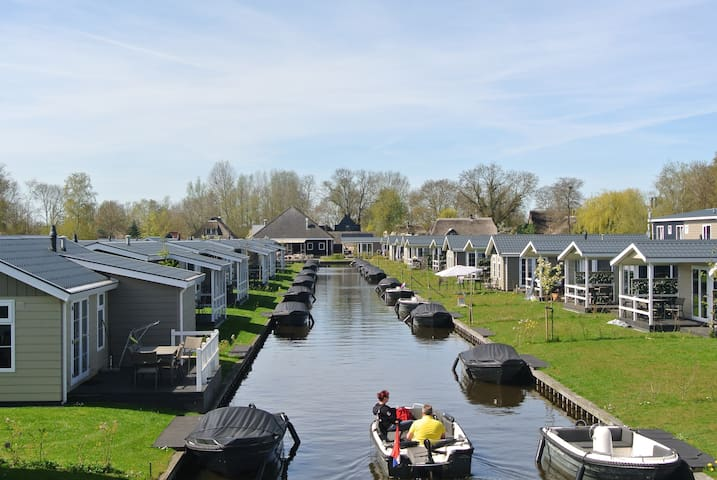 Chalet Giethoorn (incl. boat from april - october) - Giethoorn - Cabin