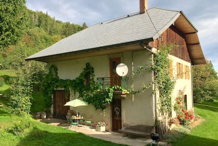 House in the Massif des Bauges - Le Châtelard - บ้าน