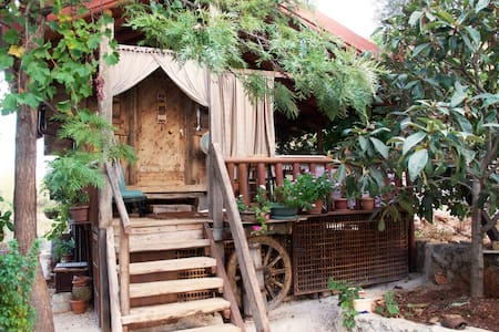 Rustic Treehouse with Private Beach - Kas - Hus