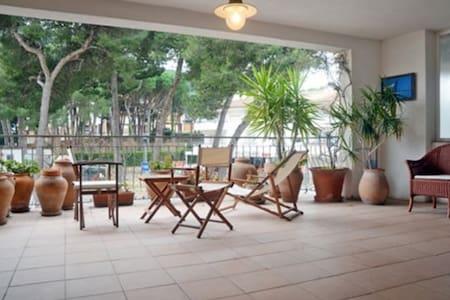 CASA CON TERRAZA PRIMERA LINEA 3HAB - Apartment