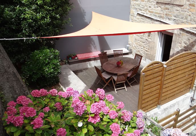Appartement terrasse centre ville