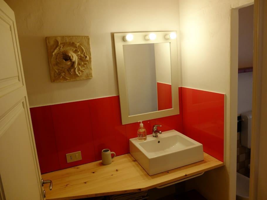 il bagno rosso