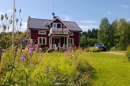 Cozy wooden house with view to lake - Sunne V