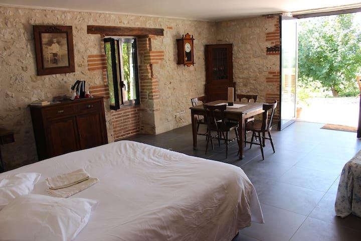Quercy, confort, espace et calme - Cazes-Mondenard - Bed & Breakfast
