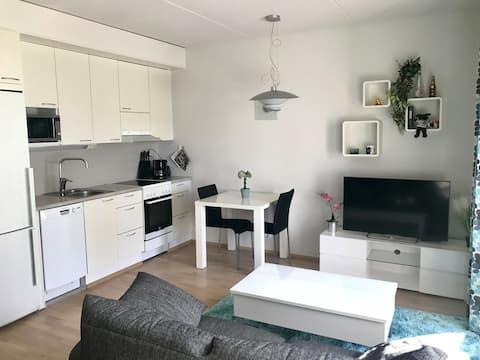 New idyllic apartment near to Helsinki