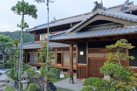 Japanese traditional villa in Nara - Nara-shi