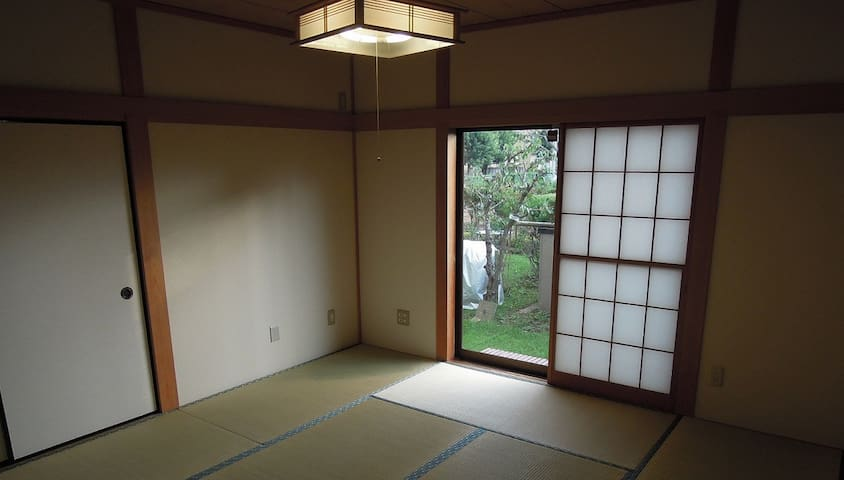 Tatami room in Tsukuba - Tsukuba-shi - บ้าน