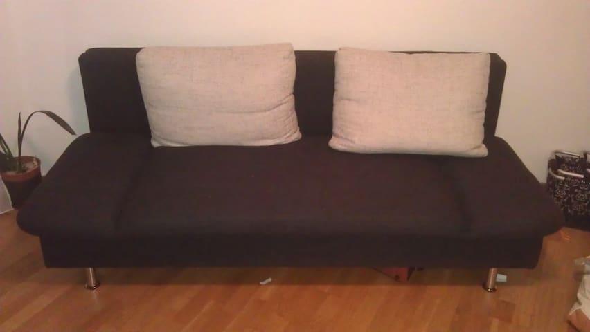 Schlafcouch im Wohnzimmer - Bielefeld - Casa