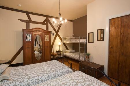 vierpersoons kamer - Stoumont - Bed & Breakfast