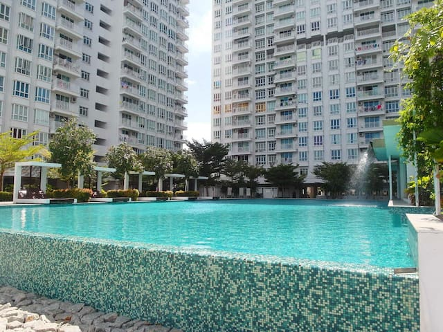 Beautiful SeaView Apartment Penang - George Town - Appartement en résidence