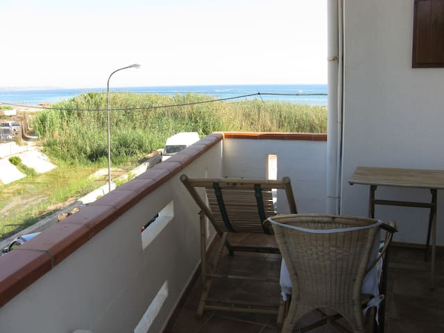 Sea view flat in Porto Palo (AG) - Porto Palo Est - Appartement