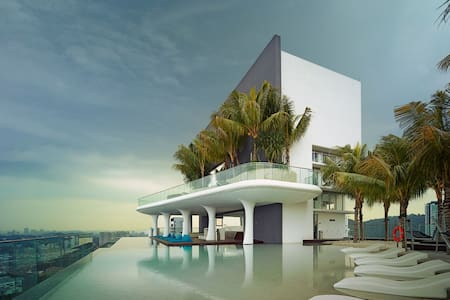 Awesome suite with rooftop beach - Kuala Lumpur - Apartament
