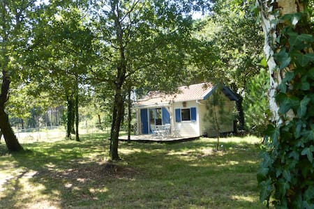 Chalet close to Atlantique coast - Saint-Vivien-de-Médoc - Haus