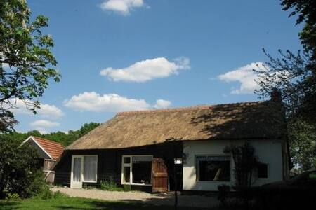 Vrijstaand authentiek koloniehuisje - Steggerda