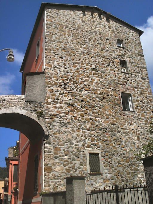 La torre dei Pisani, eastern view
