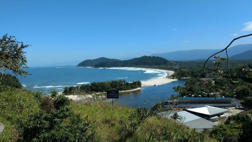 Praia Barra do Una Barcos Rio Una Mar  Beach Tênis