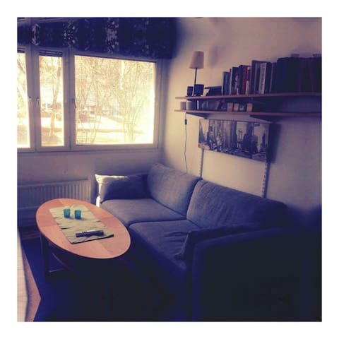 Nice place downtown Stockholm City - Estocolmo - Dormitorio compartido