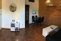 Vista 360º salón comedor