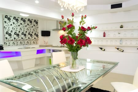White Elegance with a Modern Touch - Bang Lamung
