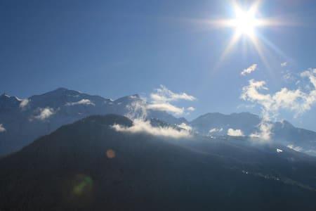 Appartement vue sur le mont blanc - Passy, Haute-Savoie - Byt