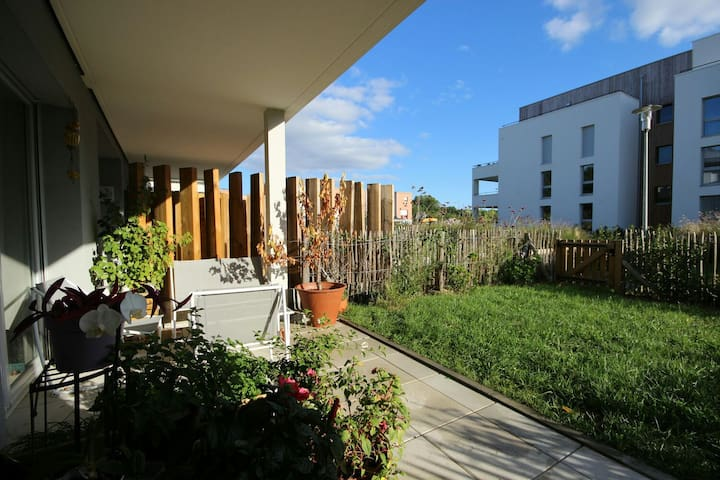 Large flat with garden - La Chapelle-sur-Erdre - Apartment