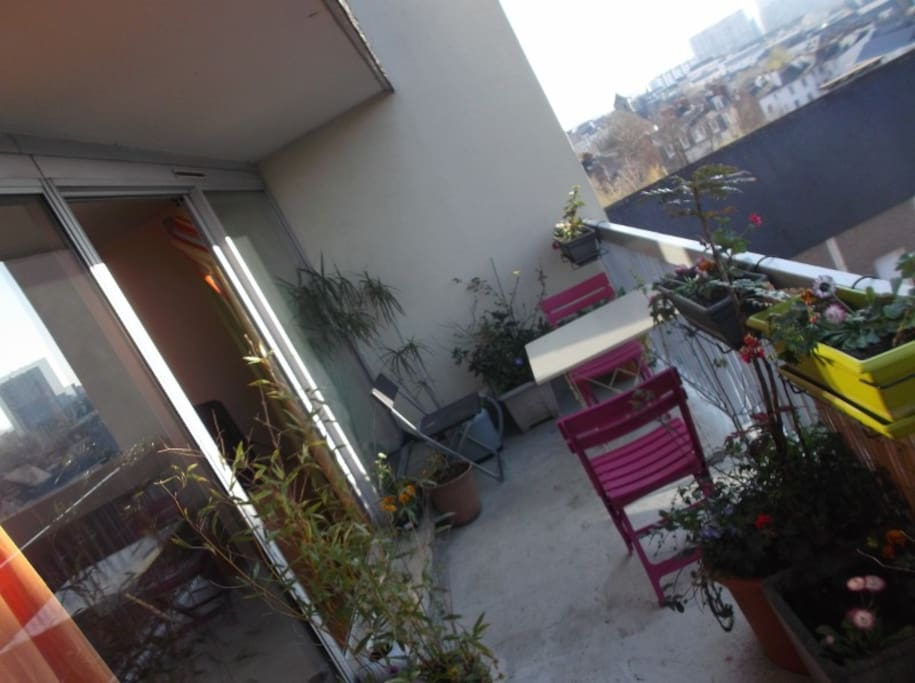 Terrasse...