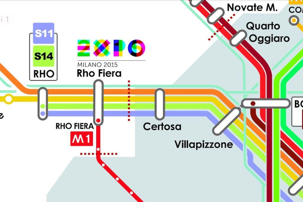 Da Certosa 1 fermata da Expo !
