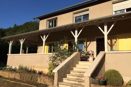 2 chambres a 20 mn de Hieres/Amby - Villemoirieu
