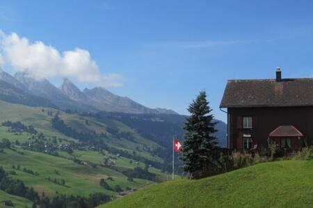 Original Toggenburger Bauernhaus - Wildhaus - Talo