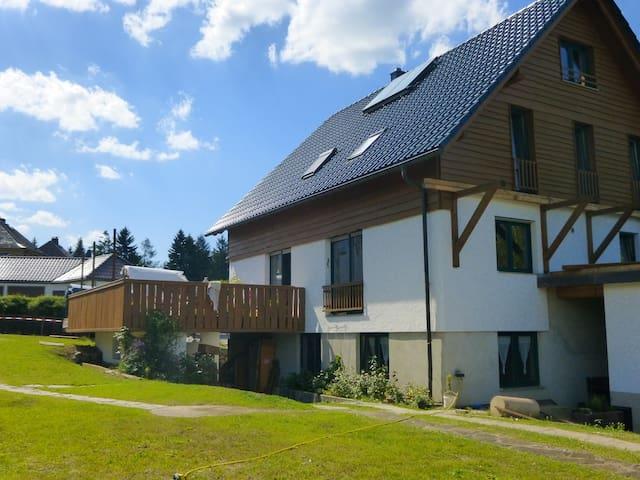helle gemütliche Wohnung in der Natur - Oelsnitz/Vogtland - Apto. en complejo residencial