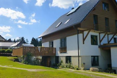 helle Wohnung in der Natur -Skisaison eröffnet! - Oelsnitz/Vogtland