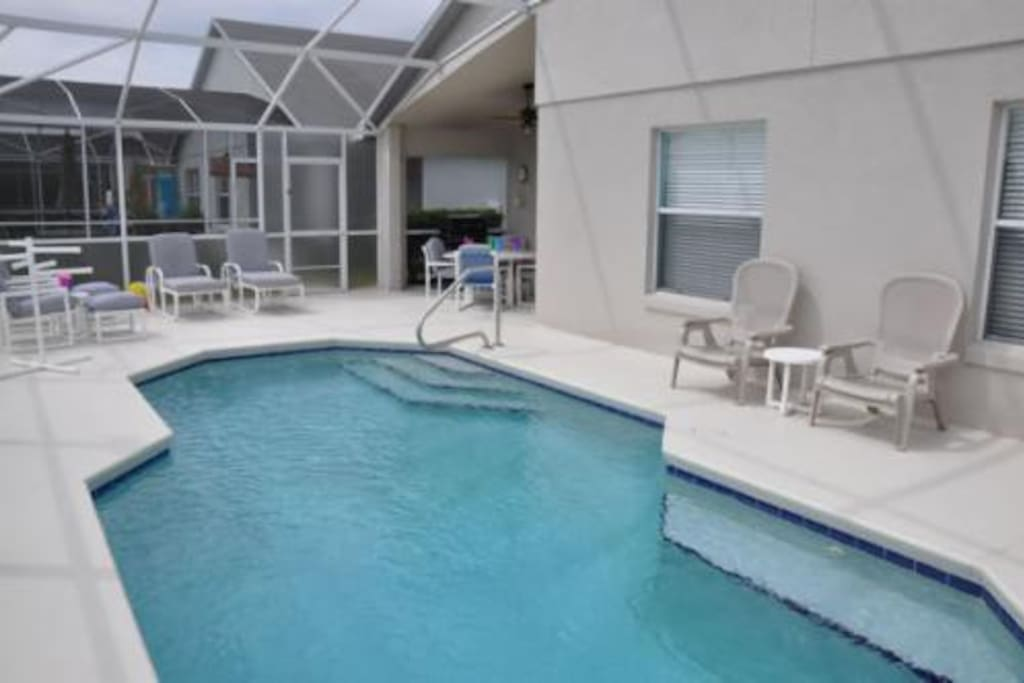 Enjoy the luxury and privacy of your own pool.