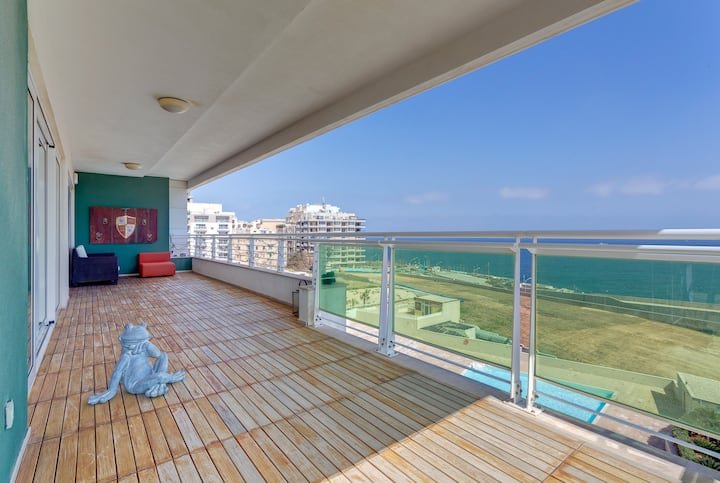 ★Seafront Apart w/Pool★Cleaning Protocols Adopted
