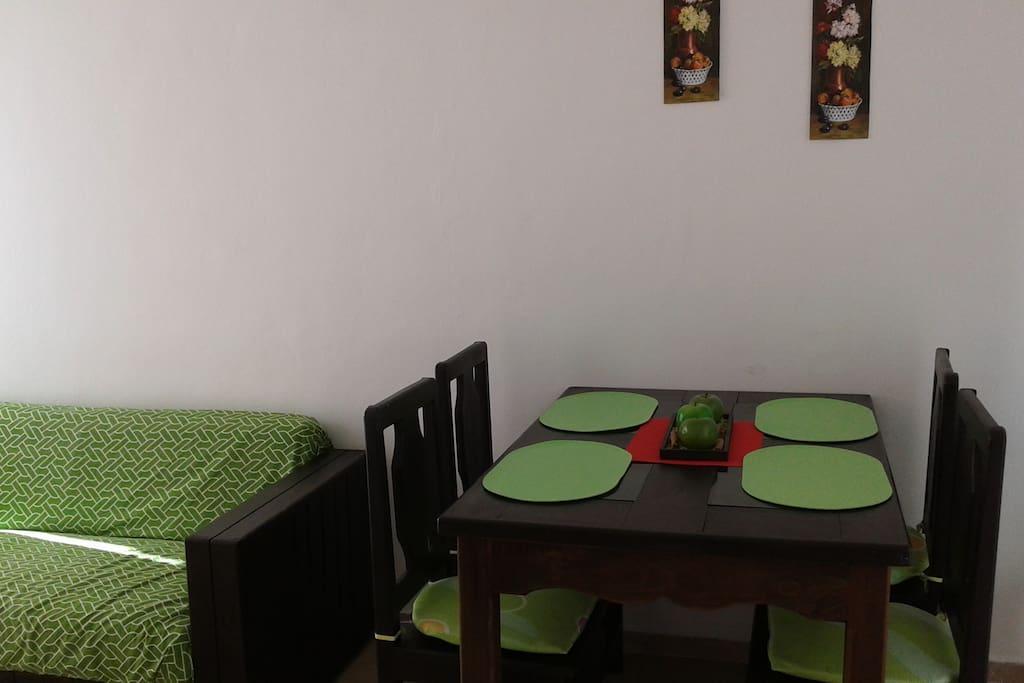 estancia del comedor y sala