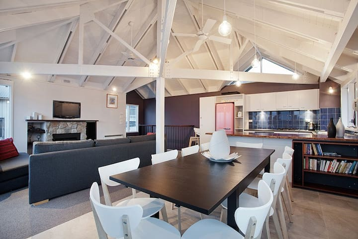 1 8 Hot Plate - Luxury Snow Chalet - Hotham Heights - Chalupa