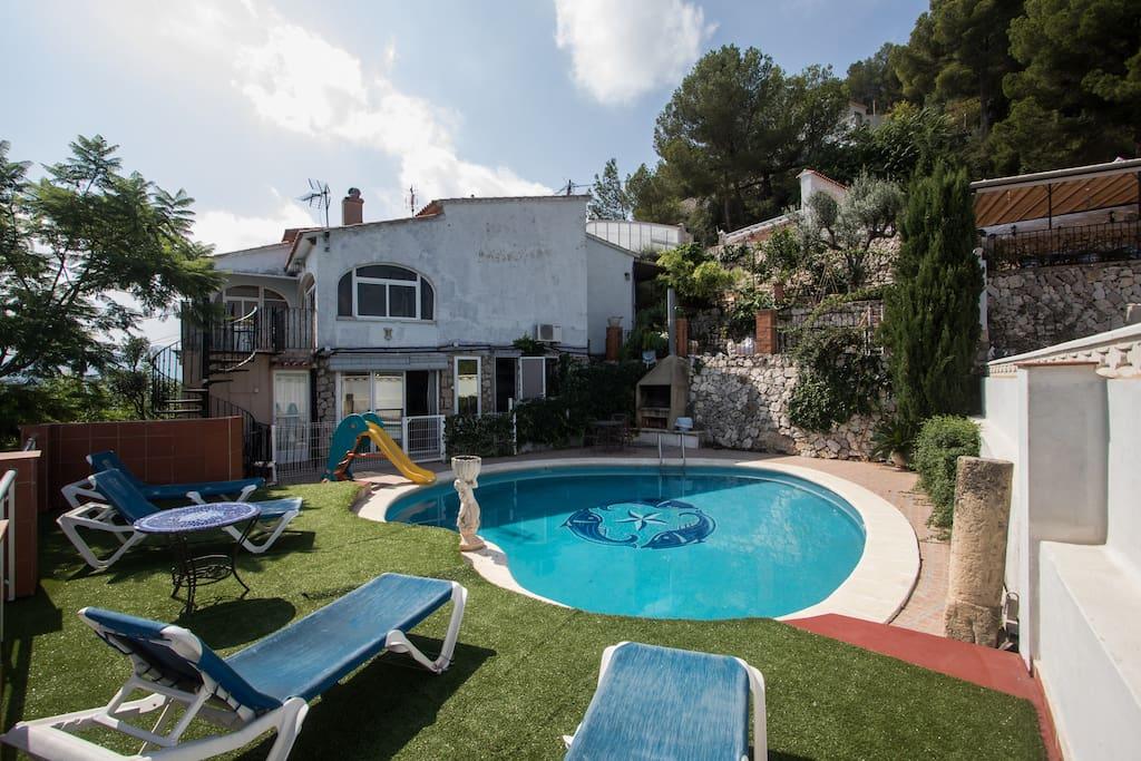 Pedra viva piscina privada barbacoa casas en alquiler en for Alquiler chalet piscina privada comunidad valenciana