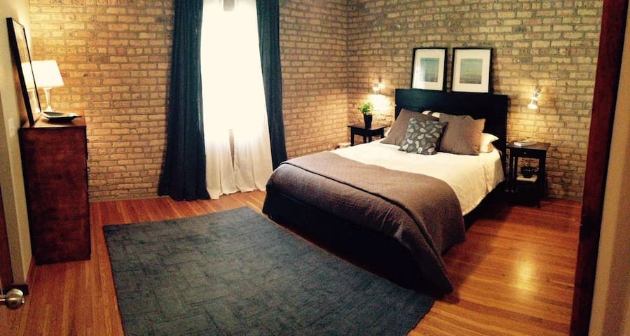 Lovely north side flat: all yours! - Chicago - Apto. en complejo residencial