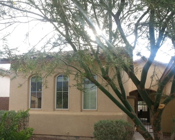 Beautiful Casita with fire pit in private courtyrd - Pahrump - Gjestehus