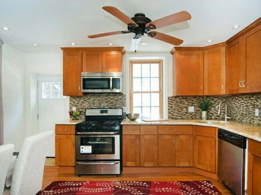 Brand new kitchen all new appliances.