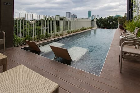 Great Location - 1 Bedroom Balcony - Cebu - Condomínio