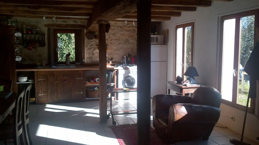 Maison paysanne, Centre-Val-de-Loire, France