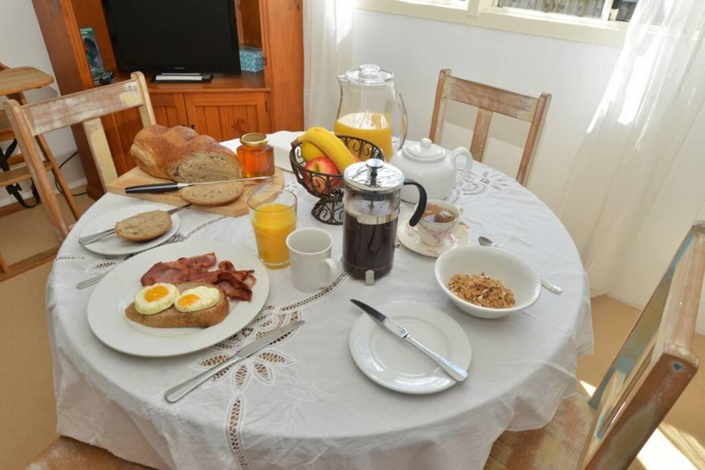 Breakfast Hamper Self-catering