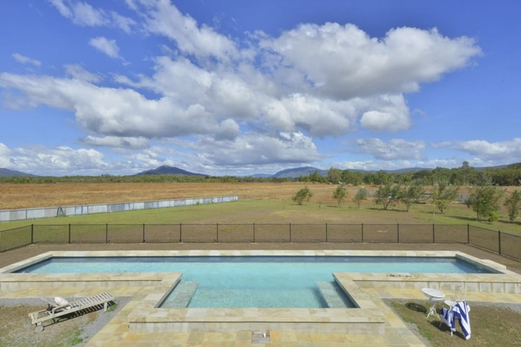 20 x 3 metre freshwater swimming pool