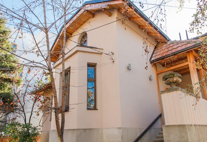 House with garden, Neimar Vracar E-75