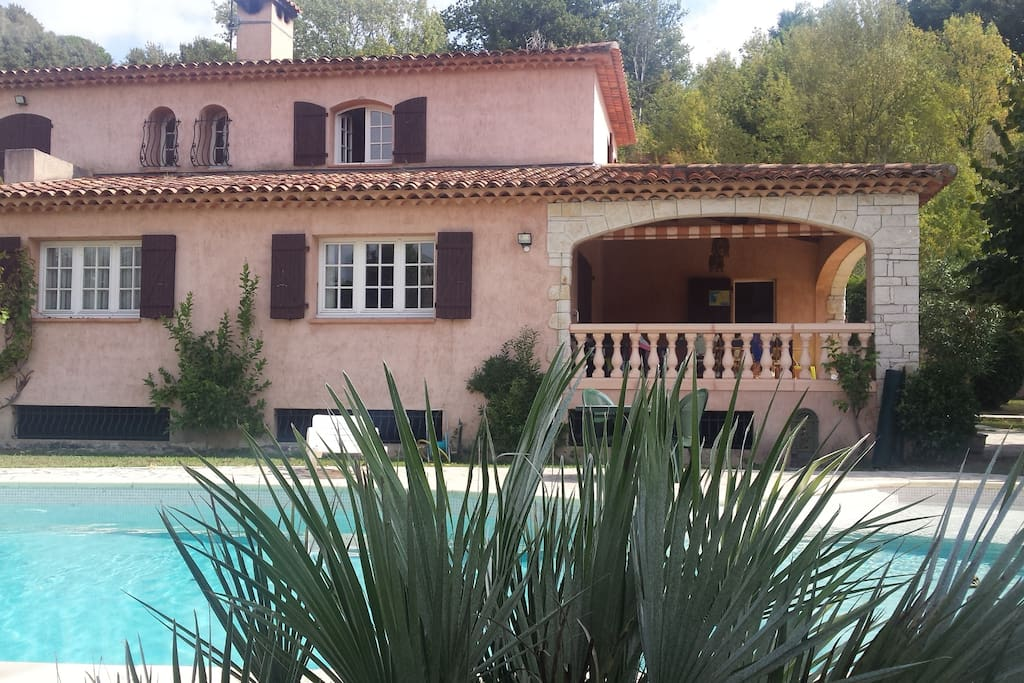 View of the House & Pool