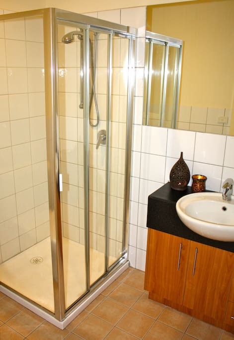 Ensuite bathroom.  Clean and well lit