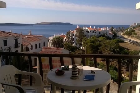 Preciosa casa frente al mar. - Platges de Fornells