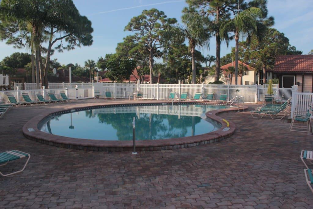 Einer der beiden Pool's