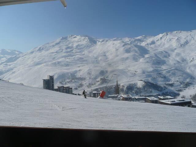 Duplex 3/4 pers- Les Menuires - Ski