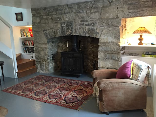 Charming & Secluded 300 yr old Burren Cottage - Carron - House